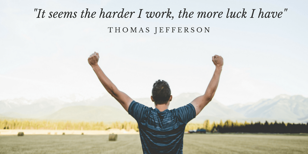 Life Lessons On Hard Work And Getting Success Chad Bockius