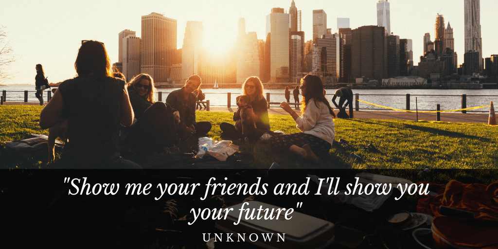 Free Download Show Me Your Friends Quote